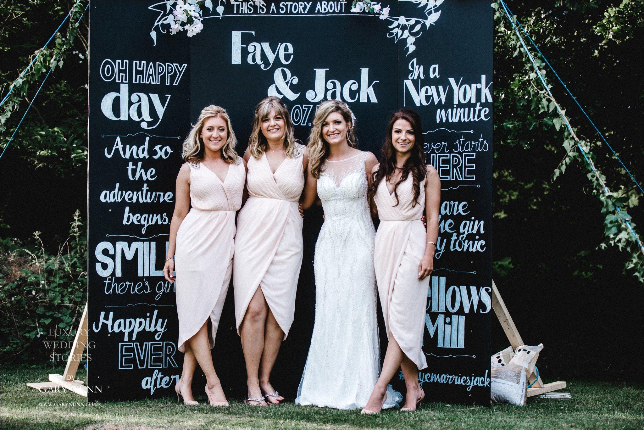 bridemaids, wedding photographer Milton Keynes