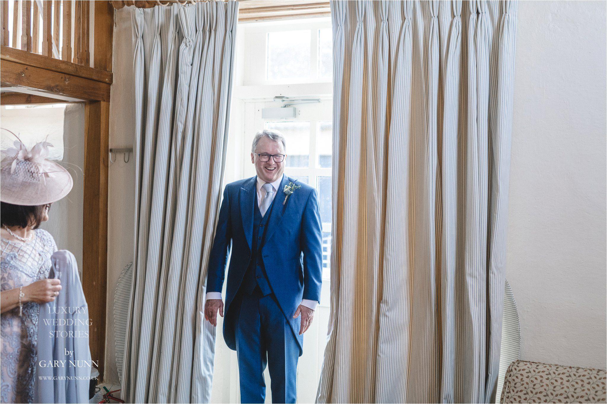 merriscourt, Gloucester wedding photographer, first look