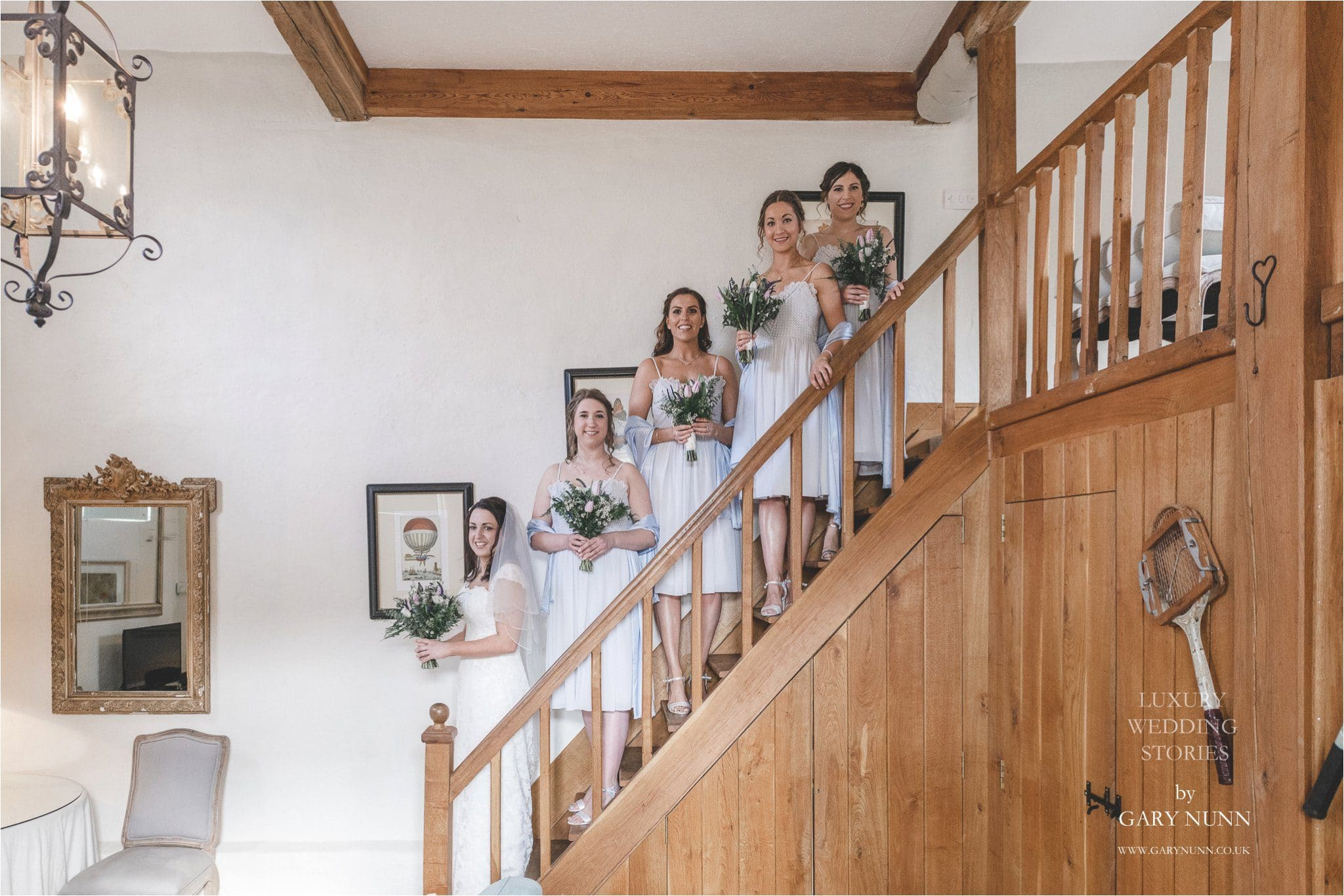 merriscourt, Gloucester wedding photographer, silver bridemaids dresses`