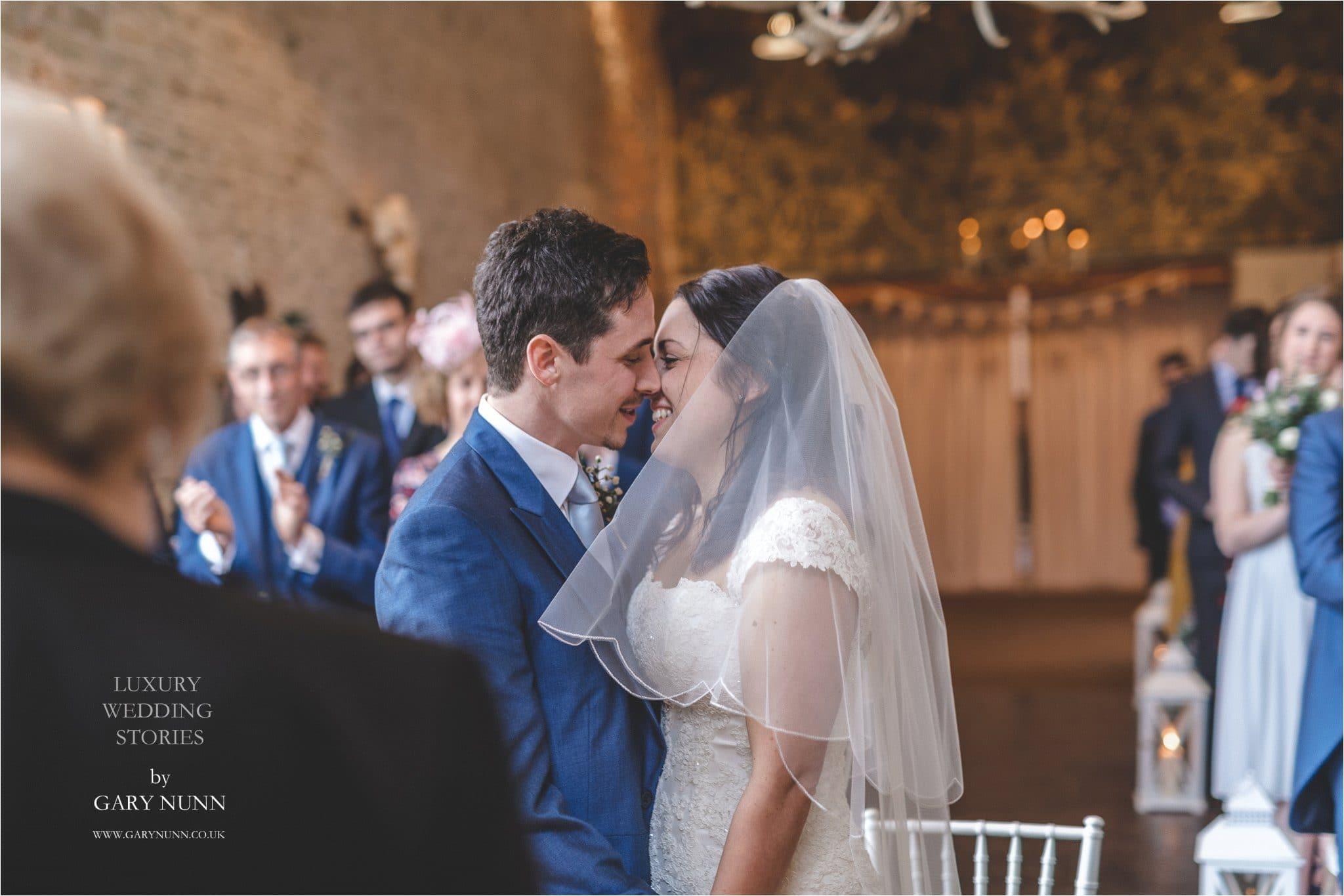 merriscourt, Gloucester wedding photographer, first kiss
