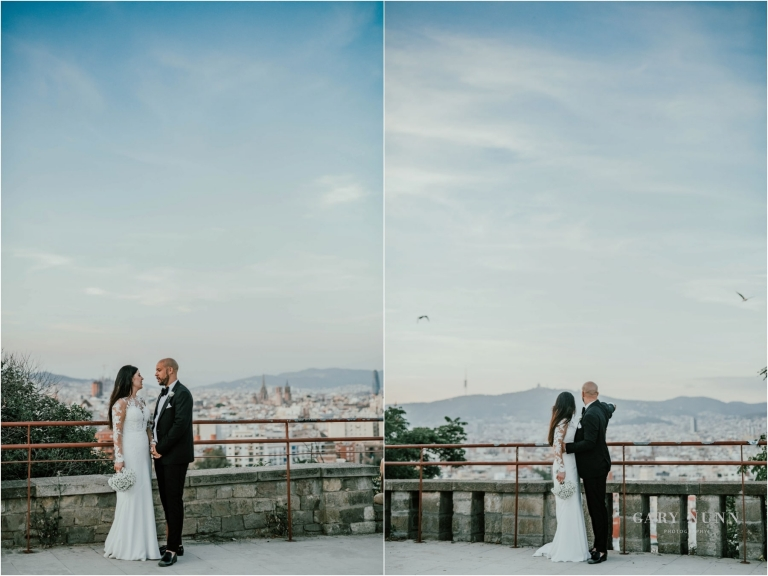 destination wedding, hotel miramar barcelona