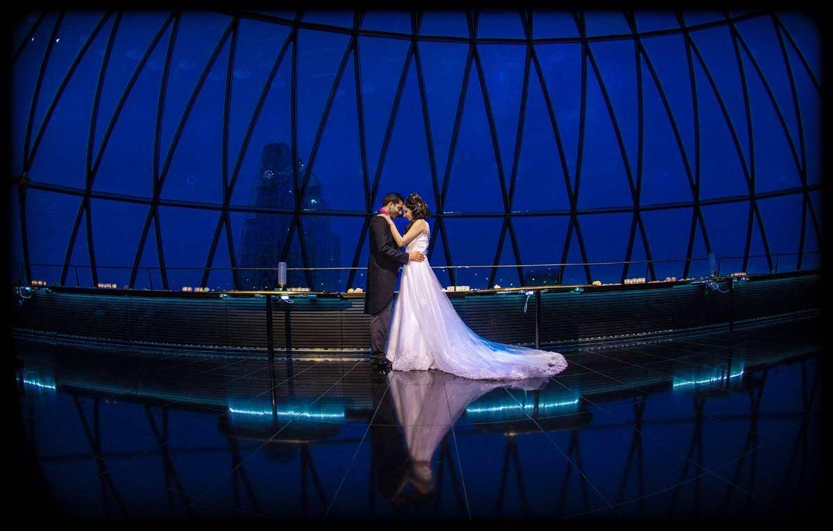 London wedding venues, Searcys-The-Gherkin-weddings-london