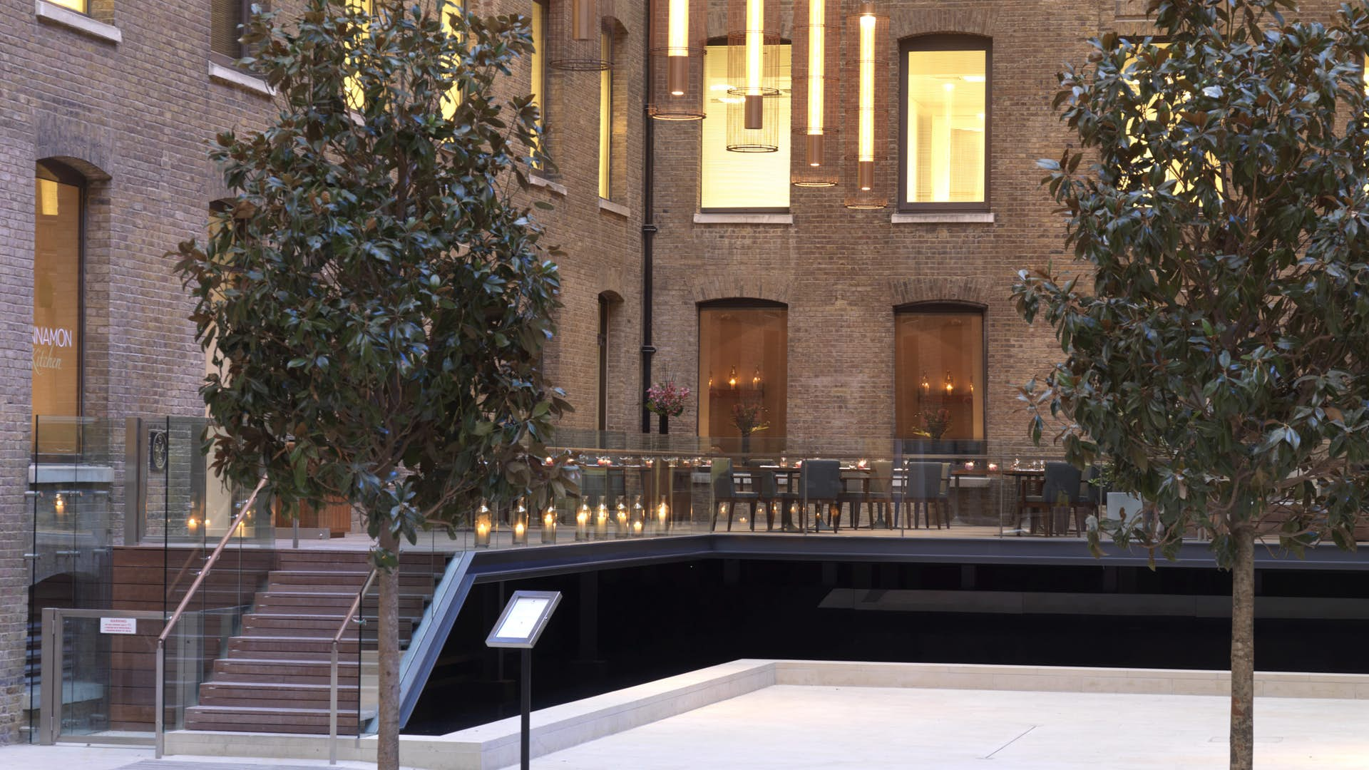 London wedding venues, Upper-Terrace-Cinnamon-Kitchen-weddings