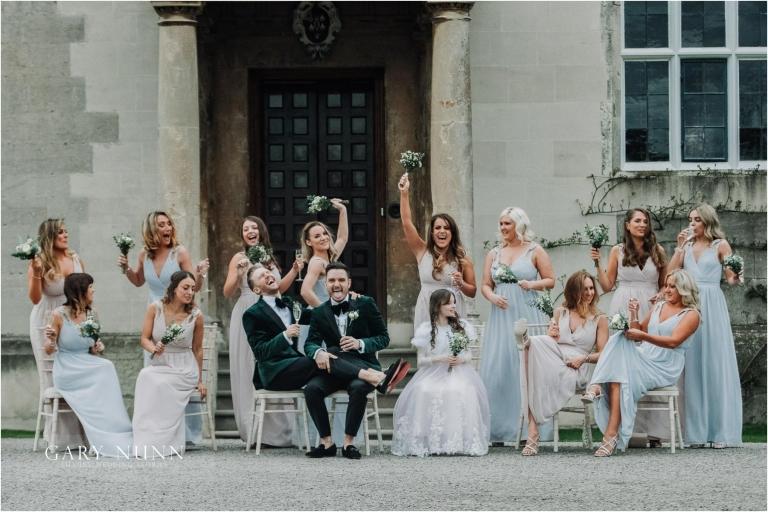 bridemaids, elmore court, gay wedding, wedding photographer gloucester, wedding photographer milton keynes